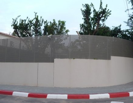 גדר מעוגלת דגם צף 20 40