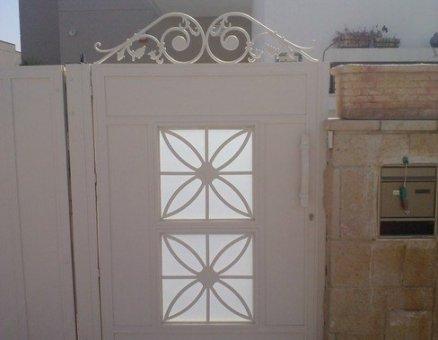 דגם אוריינטלי-סנפיר שערים