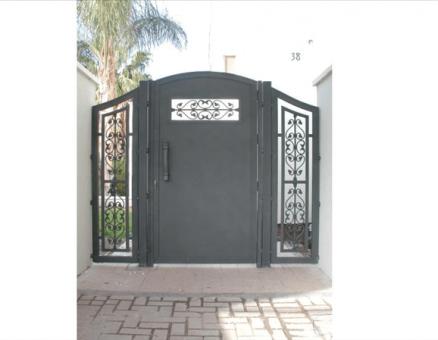 דלת כניסה דגם אוריינטלי-סנפיר