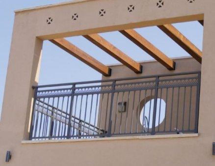 מעקות למרפסת של סנפיר