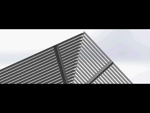 סנפיר יצירות אלומיניום- פרויקט נאטור הנדסה