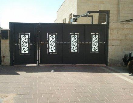 סנפיר שערים דגם אוריינטלי מעוטר