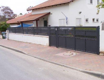 סנפיר שערים-דגם אטום