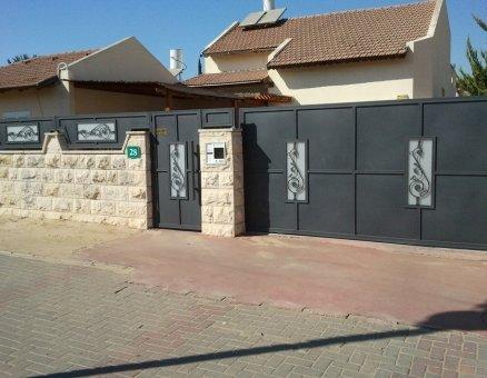 סנפיר שערים חשמלים דגם אוריינטלי
