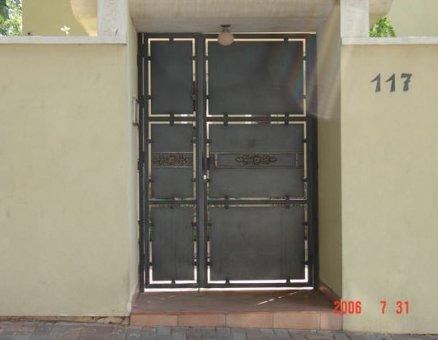 סנפיר שערים חשמלים דגם קלאסי