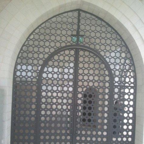פרגולות חשמליות ארמון הנציב בירושלים
