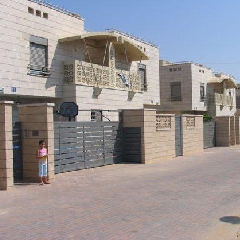 פרויקט גדרות בשכונת מגורים-1