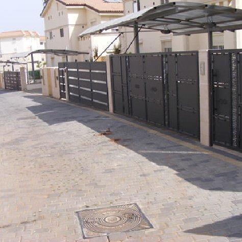 פרויקט שערים בשכונת מגורים