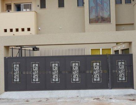 שערים חשמליים דגם אוריינטלי-סנפיר