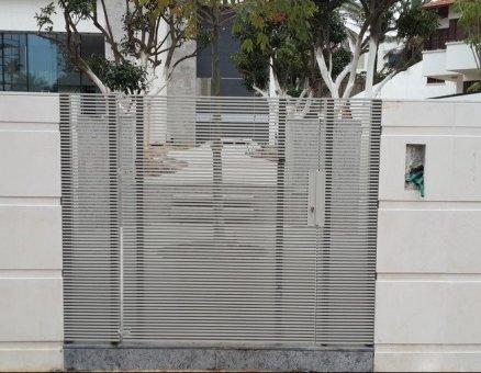 שער כניסה חשמלי דגם צף
