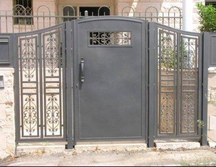 שער כניסה מעוצב דגם אוריינטלי