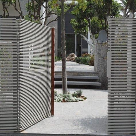 שער רצועות בית פרטי
