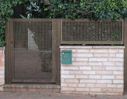 שער רשת במרכז-המשכיות של רשת בצד